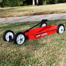 Low Profile Rider Slammed Wagon  - Adjustable Handle Extender, Radio Flyer Style