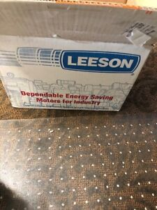 1/4 hp 1800 RPM 56C Frame 12 Volts DC TENV Leeson Electric Motor # 108045