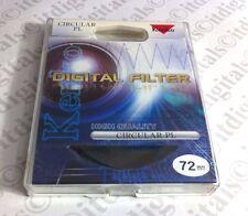 Kenko 72mm CPL CIRCULAR POLARIZER FILTER Pro CPL 72 mm PL-CIR Polar Pola