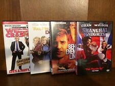Owen Wilson 4 DVDs Shanghai Knights Behind Enemy Lines Wedding Crashers