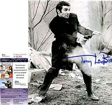 Tony Lo Bianco Signed 8x10 w/ JSA COA #P92302 + PROOF The French Connection