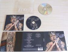 NEUF RARE RENAUD Livre Collector 1 CD ALBUM PLUS 1 DVD 15T dons 2 inédit