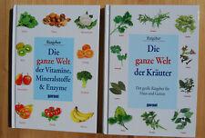 Die ganze Welt der Vitamine, Mineralstoffe  &Enzyme.+ Die ganze Welt der Kräuter
