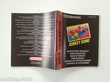 Notice/Mode d'emploi Donkey Kong NES classics Nintendo GB Gameboy AGB-FDKP-NEU6
