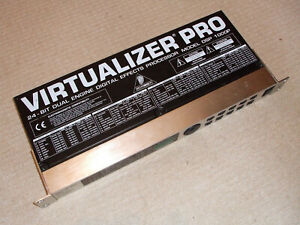 Behringer Virtualizer Pro DSP1000P 24-Bit Dual-Engine Effects Processor USED