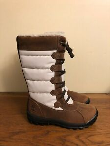 NEW Timberland Women's MT. Hayes Tall WATERPROOF Boots Leather Size 6 6910B