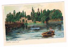 596 Zeno Diemer Lindau, Landtor Boot Litho Künstlerkarte