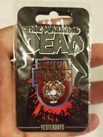 The Walking Dead Shiva Force Enamel Pin New Yesterdays Skybound SDCC Comic Con