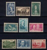 K139678/ FRANCE – YEARS 1937 - 1939 MINT MNH SEMI MODERN LOT – CV 115 $