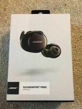Headphones-SoundSport Free Wireless Headphones w/Charging Case - Black - NEW SEA
