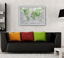 Fluoreszenz Weltkarte Wandtattoo Wandaufkleber Aufkleber Kinderzimmer Wohnzimmer