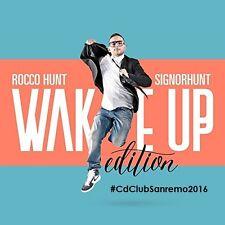 Rocco Hunt - Signor Hunt Wake up edit 2CD (new album/sealed) Sanremo 2016