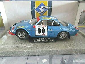 RENAULT A110 Alpine Rallye Portugal TAP 1969 Winner #88 Nicolas Solido NEW 1:18