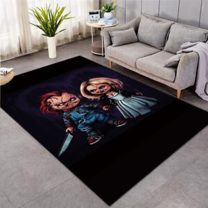 Horror Chucky Fashion Carpet Child's Play Area Rugs For Bedroom Living Room