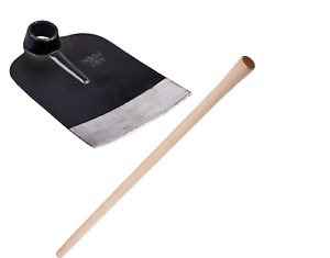 Traditional Full Size Digging Hoe/ Potatoes Digging with Wooden Handle - 120cm
