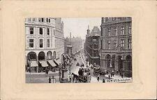 Woven Silk. New Street, Birmingham by W.H.Grant.