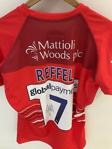 Leicester Tigers Tommy Reffell Signed European Challenge Cup Match Shirt