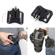 Metal Quick Release Waist Belt Buckle Strap Hanger Holder for ALL DSLR Camera