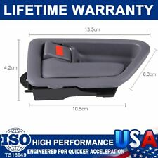 New Inside Door Handle Trim Gray Driver Side Fit For Toyota Sequoia Avalon Gray