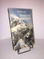 Histoire des montagnes par Ferdinand C. Lane  1954