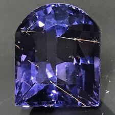 Natural 6.15 Carat Purple Spinel With Rutile Rare Genuine Loose Gemstone Fancy