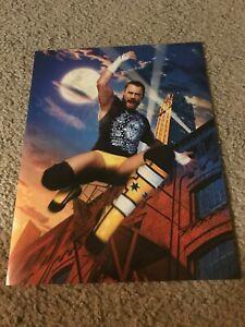 Vintage 2011 WWF WWE C.M. PUNK Pinup Photo PHILLIP JACK BROOKS MMA UFC RARE