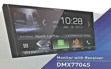 "Kenwood Dmx7704S 6.95"" 2Din Digital Media Receiver Apple CarPlay Brand New"