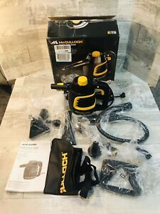McCulloch Handheld Steam Cleaner MC1230 VGU With All Accessories And Manual