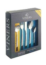 Viners Piccadilly 18/0 Stainless Steel 24 Pcs Cutlery Set in Giftbox