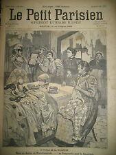 MI-CAREME PREPARATIFS CAVALCADE BLANCHISSEUSES JOURNAL LE PETIT PARISIEN 1894
