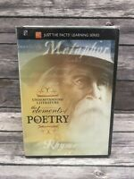 Just the Facts Understanding Literature: The Elements of Poetry (DVD, 2007) NEW