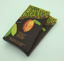 2 Trader Joe's Dark Chocolate Lover's Chocolate 2 Bar Pack (4 bars total)