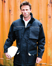 Result Workguard Sabre Padded Long Work Coat (Wind & Waterproof) -  R301X