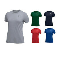 Nike Legend Veneer Women's Dri-Fit Crewneck Fitness T-Shirt Tee