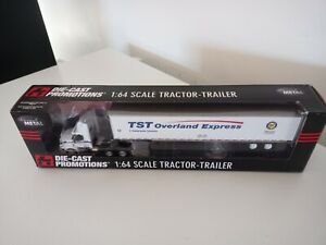 DCP. Diecast Promotions. TST Overland Express. Tractor trailer. 1/64. New.
