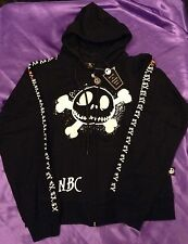 Nightmare Before Christmas Skull And Crossbones Hoodie Small SALE £5 Off