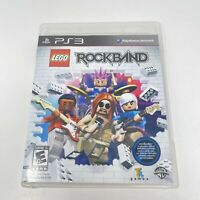 LEGO Rock Band Sony PlayStation 3 PS3 Video Game Complete With Manual