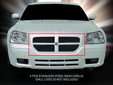 Black Mesh Grille Grill Upper For 05-07 Dodge Magnum Except SRT8/RT