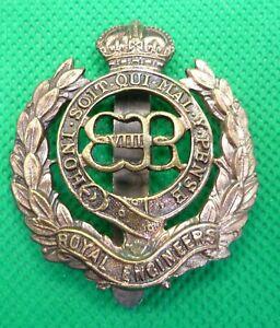 Royal Engineers Edward VIII Cap Badge
