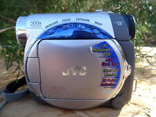 Jvc Gr-D230U Camcorder - Silver no battery Noisy Tape Mechanism Grd230U