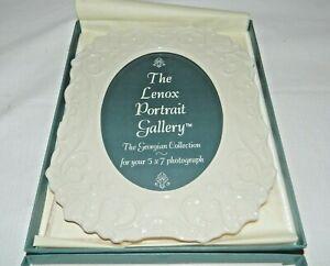 Lenox Portrait Gallery Georgian Collection Picture Frame, Original Box