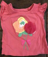 The Childrens Place Girls 12-18 Months Pink Floral T-Shirt