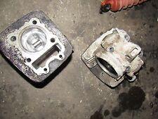 1987 kawasaki klf110 mojave cylinder head cam valves piston