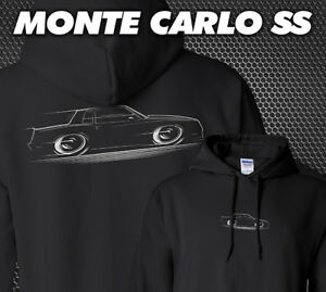 Hoodie '83-'88 Monte Carlo SS Chevy Chevrolet 1983 1984 1985 1986 1987 1988