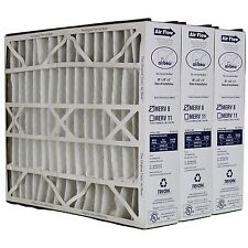 "Trion Air Bear 255649-102 (3 Pack) Pleated Furnace Air Filter 20""x25""x5"" MERV 8"