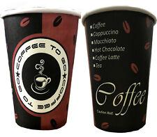 2000 X Tasse 0,3 L papier carton Coffee To Go Gobelet 300 ml 12 oz