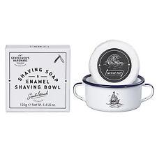Hardware entre caballeros-Tazón de Afeitar Shaving Soap & Esmalte En Caja De Presentación