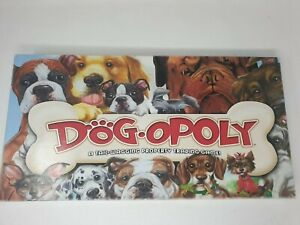 DOG-OPOLY BOARD GAME (LATE FOR THE SKY) MONOPOLY, 2-6 PLAYERS, AGES 8 plus VGC