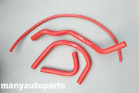 FOR Yamaha Banshee 350 YFZ350 1987-2006 88 Reinforced Silicone Radiator Hose RED