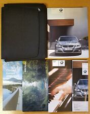 GENUINE BMW 3 SERIES E60 E61 HANDBOOK OWNERS 2008-2012 WALLET PACK D-527